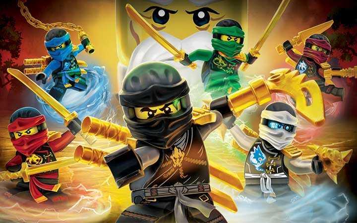 Lego Ninjago: Flight of the Ninja