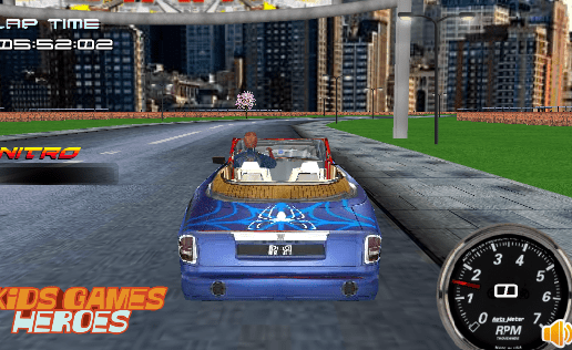 Spiderman Racing 3d