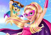 Super Barbie Saving City